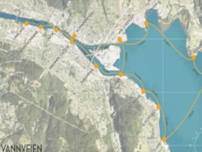 Elferje på Drammensfjorden